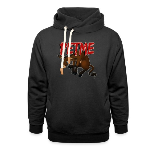 #PETME Sad Mule - Shawl Collar Hoodie