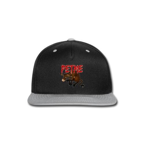 #PETME Sad Mule - Snap-back Baseball Cap