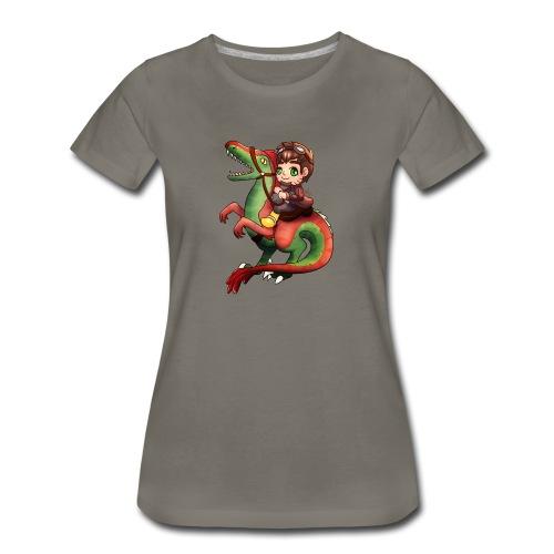 Raptor Riding - Women's Premium T-Shirt