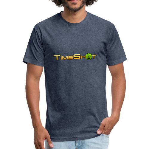 TimeShot Logo - Fitted Cotton/Poly T-Shirt by Next Level