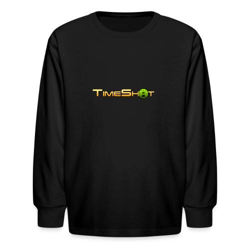 TimeShot Logo - Kids' Long Sleeve T-Shirt