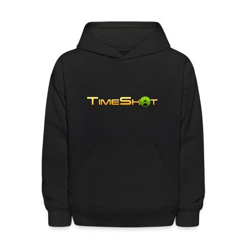 TimeShot Logo - Kids' Hoodie