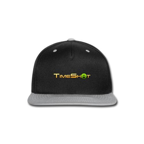 TimeShot Logo - Snap-back Baseball Cap