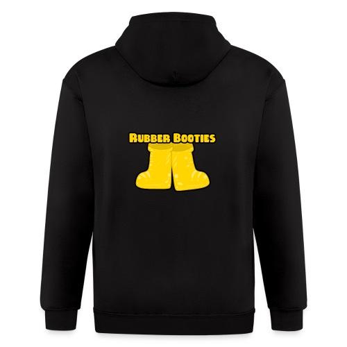 Rubber Booties - Men's Zip Hoodie
