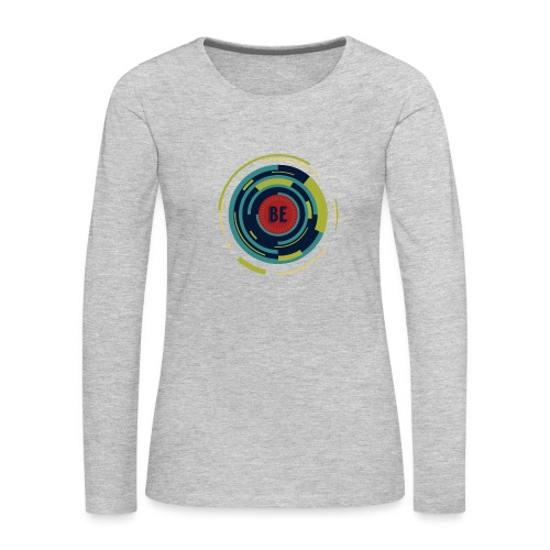 Be Women's V-Neck Tri-Blend T-Shirt - Women's Premium Long Sleeve T-Shirt