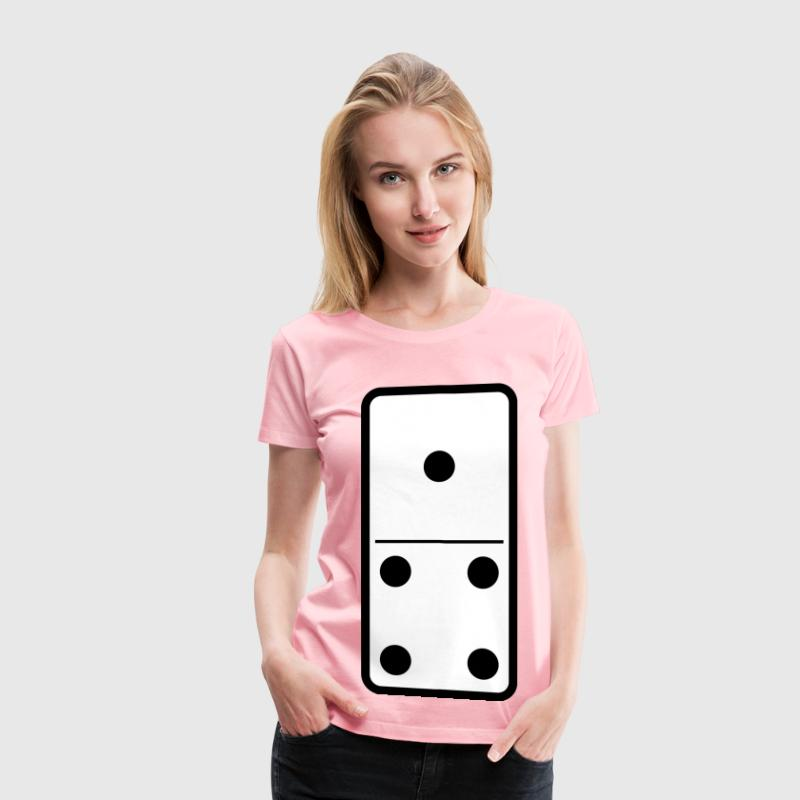 domino set 10 - Women's Premium T-Shirt