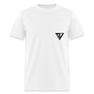 Aesthetic Hoodie Pink/White - Men's T-Shirt