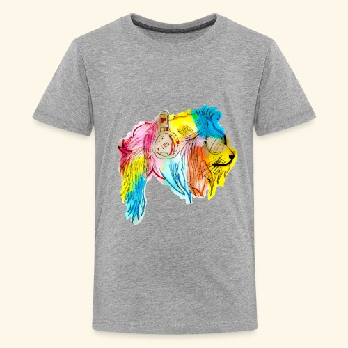 Color lion - Kids' Premium T-Shirt