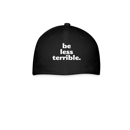 Be Less Terrible Ceramic Mug - Baseball Cap