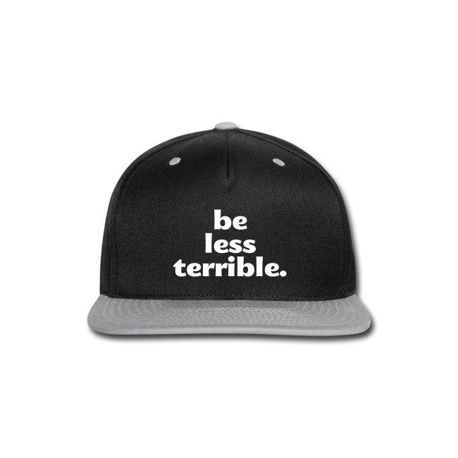 "Women's ""Be Less Terrible"" Hoodie"