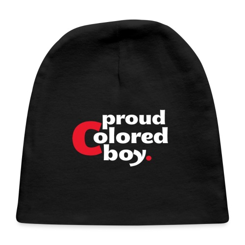 Men's Proud Colored Boy Tri-Blend Shirt - Baby Cap