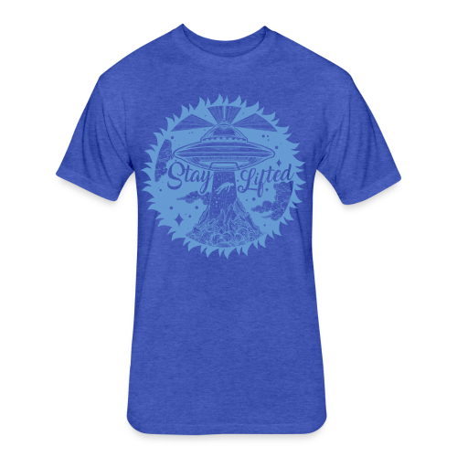 Stay Lifted - Fitted Cotton/Poly T-Shirt by Next Level