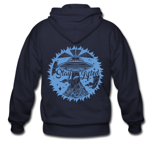 Stay Lifted - Men's Zip Hoodie