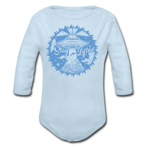 Stay Lifted - Long Sleeve Baby Bodysuit