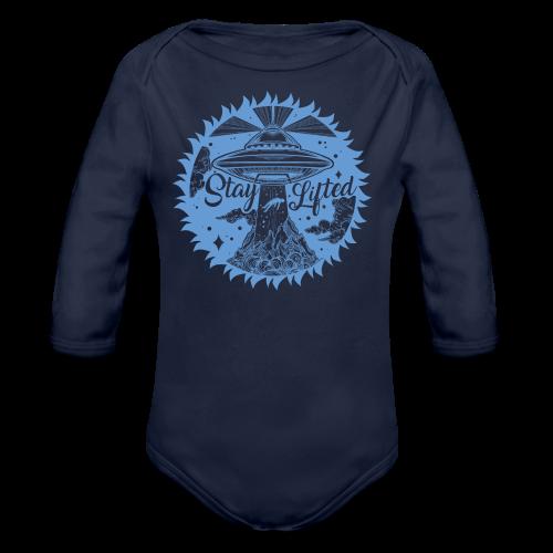 Stay Lifted - Organic Long Sleeve Baby Bodysuit