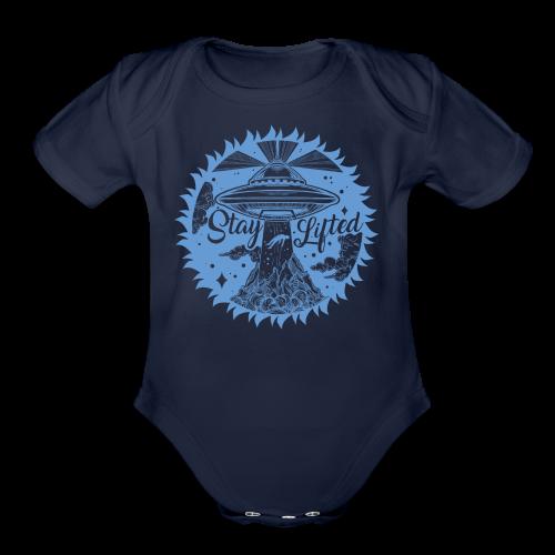 Stay Lifted - Organic Short Sleeve Baby Bodysuit