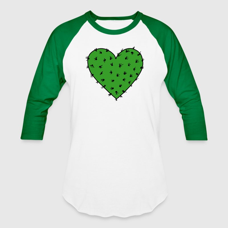Caktus Heart, Free Hugs!, Valentin's Day, Love - Baseball T-Shirt