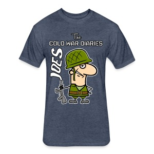 Joes: The Cold War Diaries - Fitted Cotton/Poly T-Shirt by Next Level