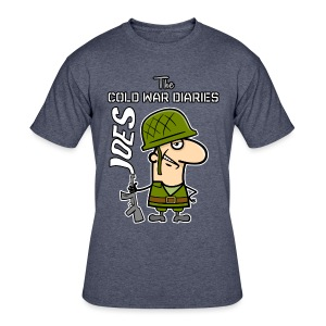 Joes: The Cold War Diaries - Men's 50/50 T-Shirt