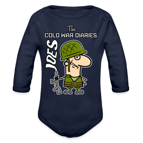 Joes: The Cold War Diaries - Organic Long Sleeve Baby Bodysuit
