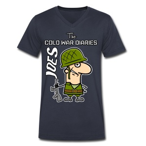 Joes: The Cold War Diaries - Men's V-Neck T-Shirt by Canvas