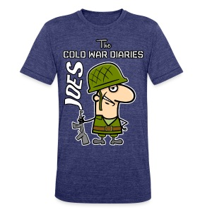 Joes: The Cold War Diaries - Unisex Tri-Blend T-Shirt by American Apparel