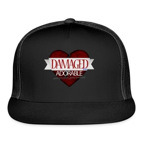 Damaged Hoodie - Trucker Cap