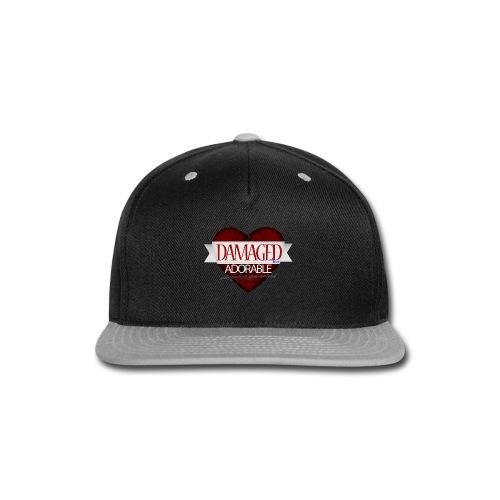 Damaged Hoodie - Snap-back Baseball Cap