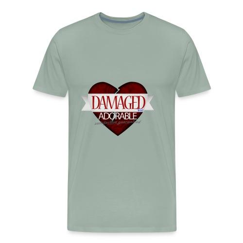Damaged Hoodie - Men's Premium T-Shirt