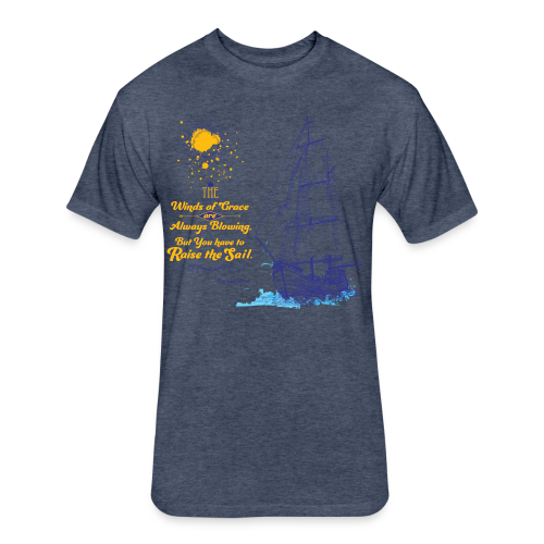 Winds of Grace - Fitted Cotton/Poly T-Shirt by Next Level