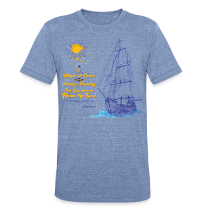 Winds of Grace - Unisex Tri-Blend T-Shirt by American Apparel