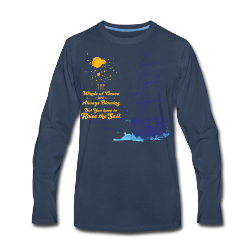 Winds of Grace - Men's Premium Long Sleeve T-Shirt