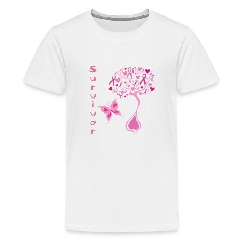 Breast Cancer Survivor - Kids' Premium T-Shirt