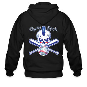 Defend the Rock - Men's Zip Hoodie