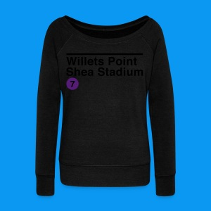 Willets Point - Women's Wideneck Sweatshirt