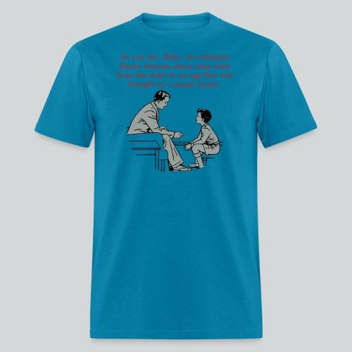 Billy's Easter Lesson - Men's T-Shirt