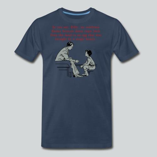 Billy's Easter Lesson - Men's Premium T-Shirt