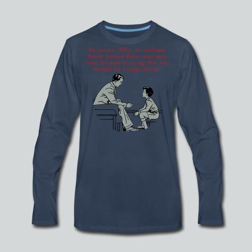 Billy's Easter Lesson - Men's Premium Long Sleeve T-Shirt