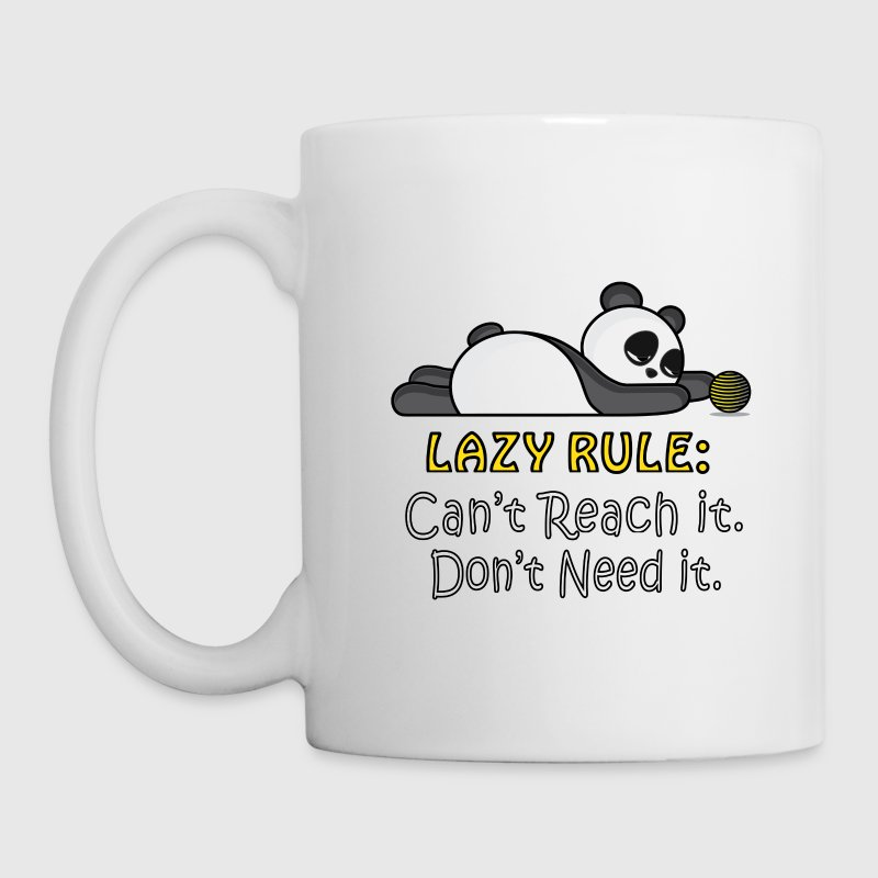 Lazy Panda Mugs & Drinkware - Coffee/Tea Mug
