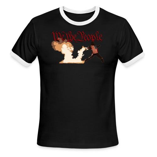 We The People - Men's Ringer T-Shirt