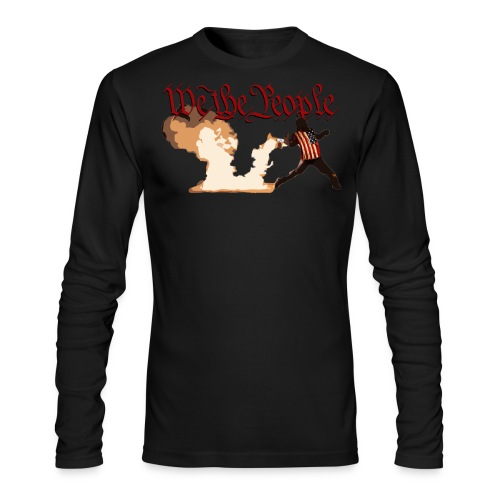 We The People - Men's Long Sleeve T-Shirt by Next Level