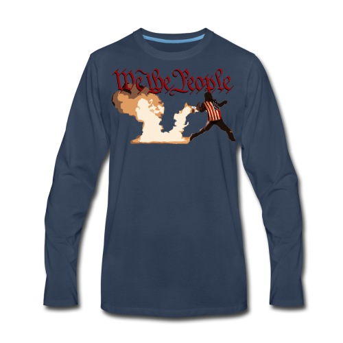 We The People - Men's Premium Long Sleeve T-Shirt
