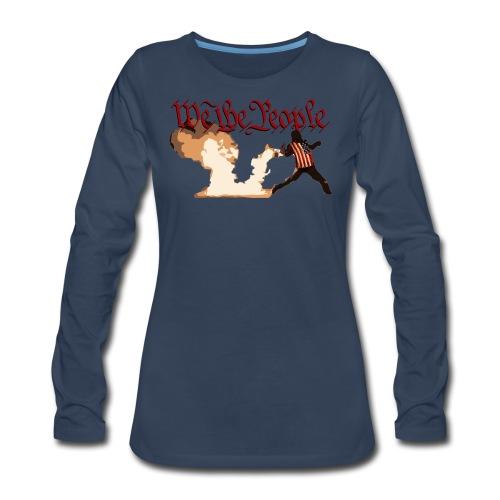 We The People - Women's Premium Long Sleeve T-Shirt