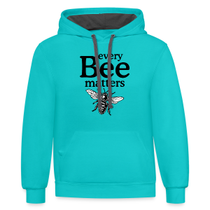Every Bee matters T-Shirt - Contrast Hoodie