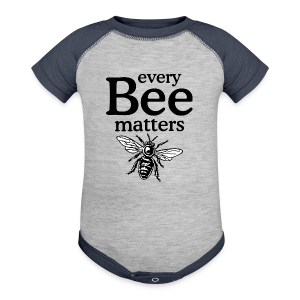 Every Bee matters T-Shirt - Baby Contrast One Piece