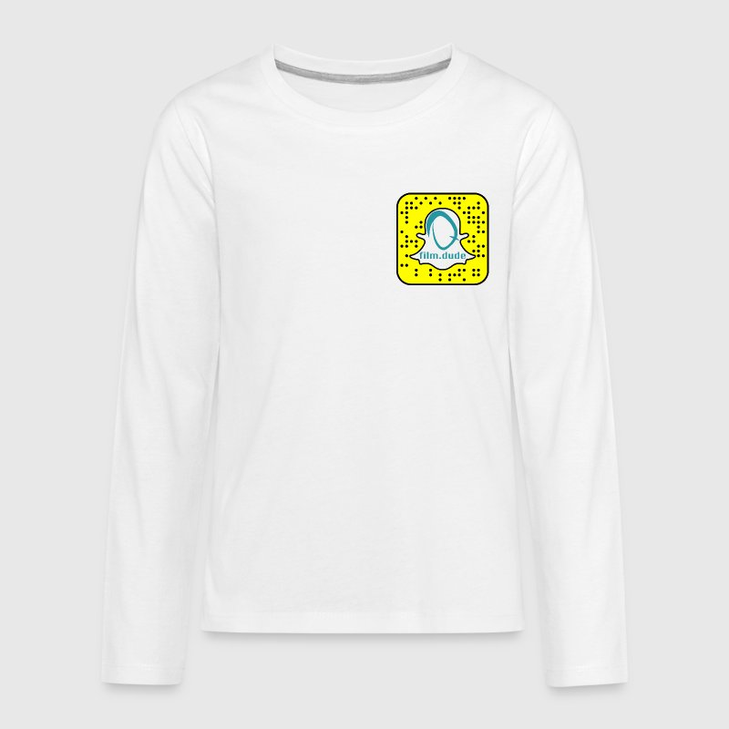 Long Sleeve Snap - Kids' Premium Long Sleeve T-Shirt
