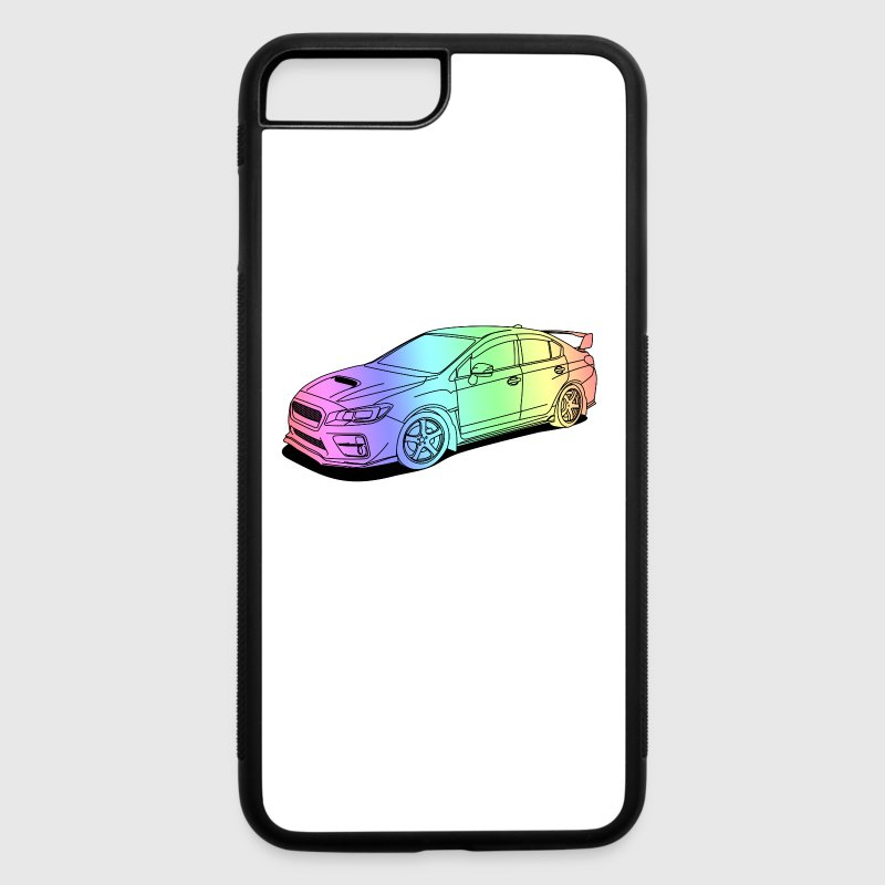 Subaru wrx sti colourful Accessories - iPhone 7 Plus Rubber Case