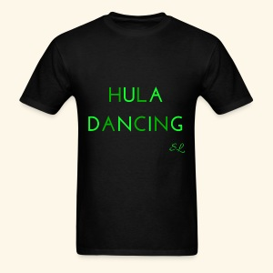 Hula Dancing Dancer Shirt by Stephanie Lahart - Men's T-Shirt
