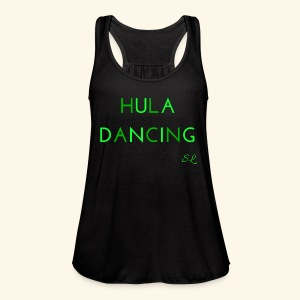 Hula Dancing Dancer Shirt by Stephanie Lahart - Women's Flowy Tank Top by Bella