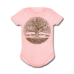 Roots - Short Sleeve Baby Bodysuit